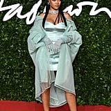 Rihanna at the British Fashion Awards 2019