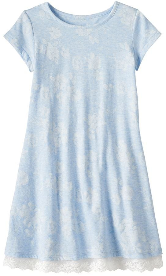 Jumping Beans Disney Beauty and the Beast Toddler Girl Belle Silhouette & Floral Pattern Dress ($20, originally $28)