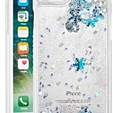 Skinnydip Glitter Snowflake Liquid Iphone 7 Case ($30)