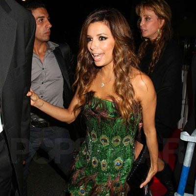 Eva Longoria Dresses Up at Cannes