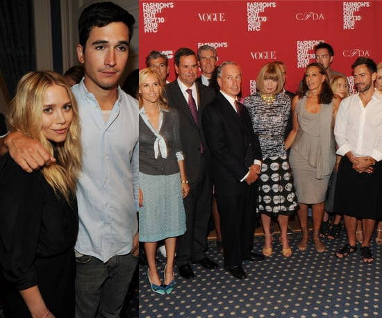 Photos of Anna Wintour, Tommy Hilfiger and Mary Kate Olsen at Fashion Night Out 2010 Launch