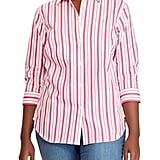 Lauren Ralph Lauren Striped Button-Down Shirt