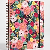 Rifle Paper Co 2019 Juliet Rose Spiral 17-Month Notebook