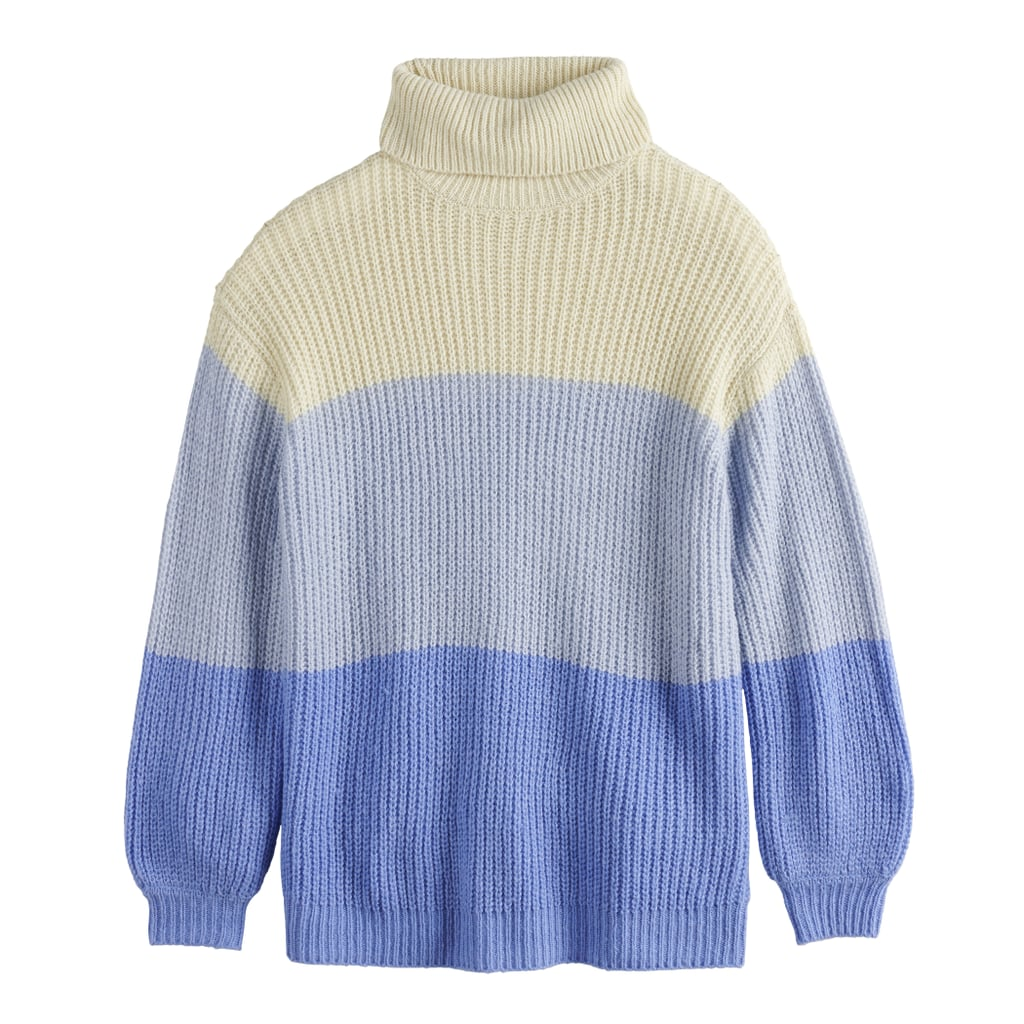 Oversize T-Neck Sweater