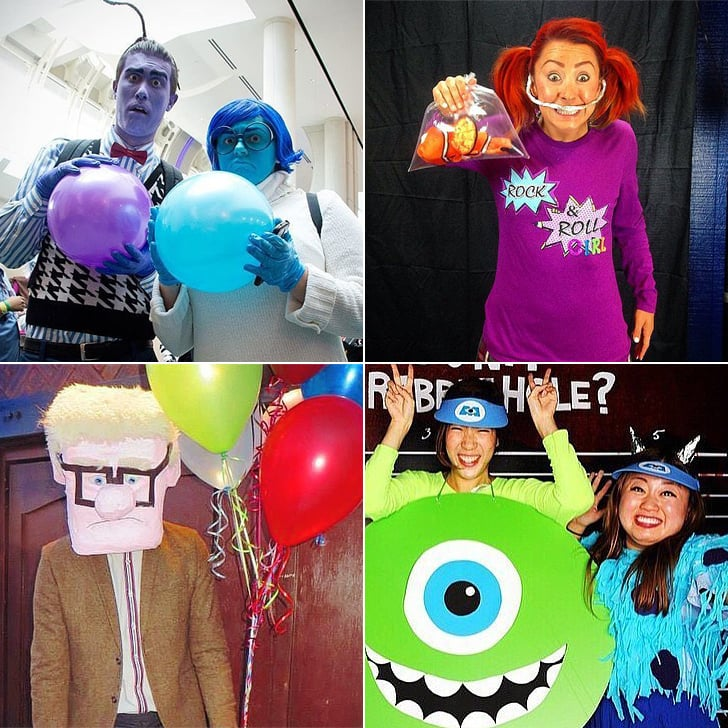 DIY Pixar Costumes  sc 1 st  Popsugar : easy cartoon costume ideas  - Germanpascual.Com
