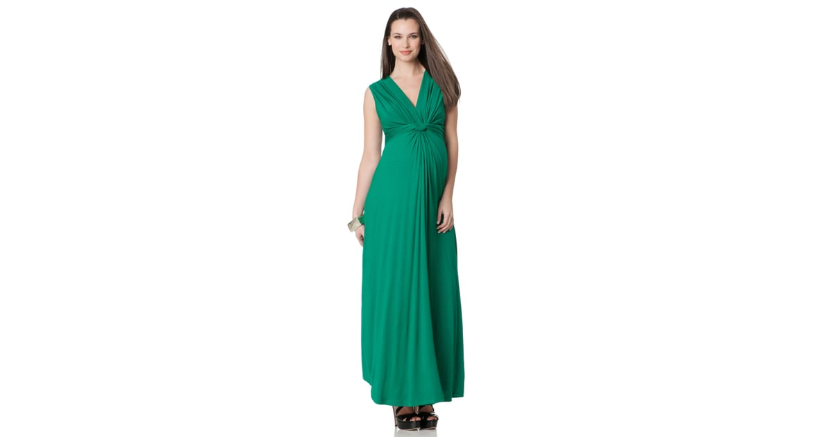 Seraphine Sleeveless Knot Front Maternity Maxi Dress 102 Meet Kate Middleton S Most Loved Maternity Designer Popsugar Family Photo 6