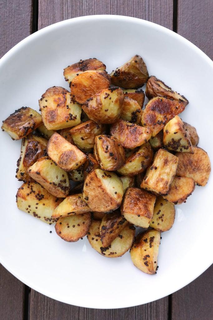 Mustard Roasted Potatoes