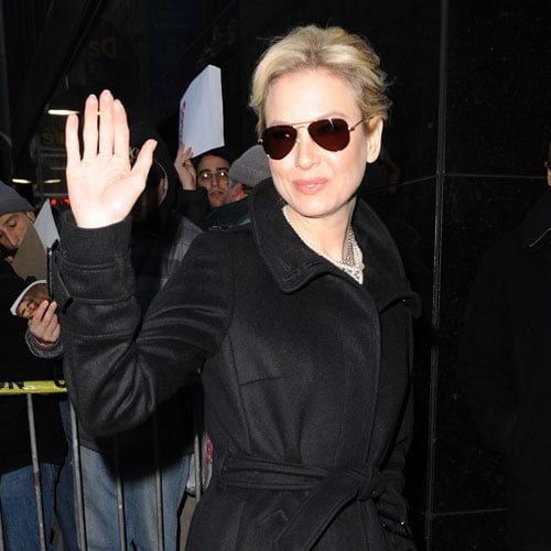 Photos and Video of Renee Zellweger on Good Morning America