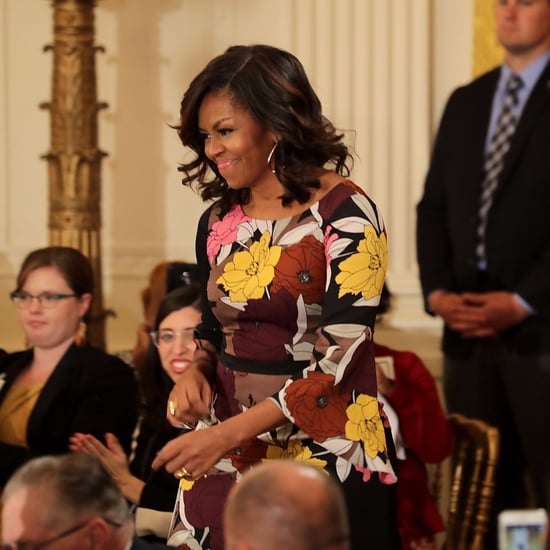 Michelle Obama's Tracy Reese Dress November 2016