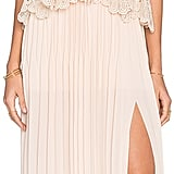 Self-Portrait Lace Peplum Dress ($590)