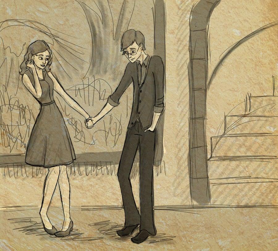 Teenage Arthur and Molly