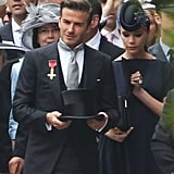 David and Victoria Beckham Arrive at the Royal Wedding!