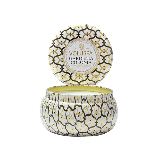 And what's the best complement to a warm bubble bath? A candle, like Voluspa's Maison Blanc Two-Wick Candle ($16).
