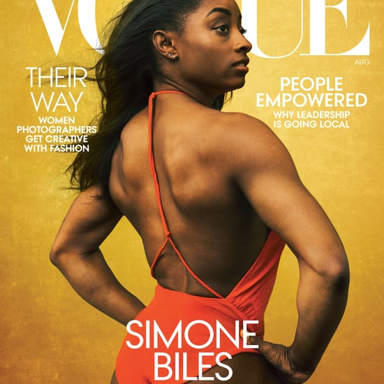 Simone Biles Talks Body Image and Mental Health in Vogue