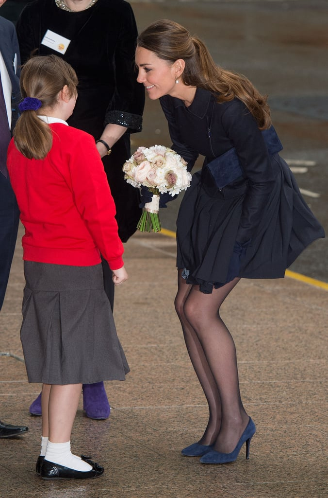 Kate Middleton continued her busy week of work on Wednesday when she attended a forum at Place2Be and listened to discussions about cyberbullying, addiction, and self-harm. The nonprofit, which counts the Duchess of Cambridge as one of its patrons, focuses on helping schoolchildren in the UK through therapy and emotional support. Kate became a patron back in April and later teamed up with comedian John Bishop that month to visit a primary school in Manchester on behalf of the charity.  On Tuesday, Kate teamed up with Prince William to visit Only Connect, a charity that works with prisoners and at-risk offenders, in London.