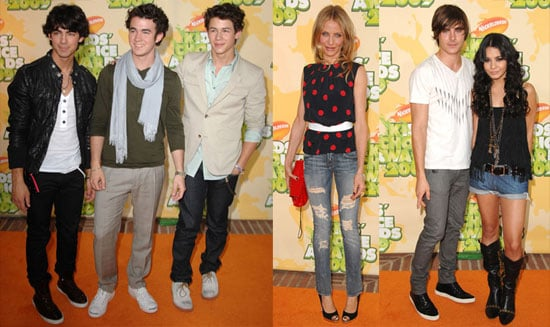 Photos From 2009 Kids Choice Awards, Zac Efron, Jonas Brothers, Cameron Diaz, Taylor Lautner and More