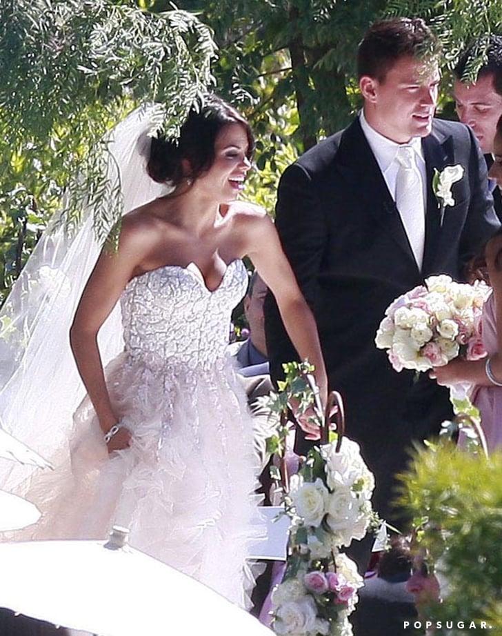 Channing Tatum And Jenna Dewan Wedding Pictures Popsugar Celebrity