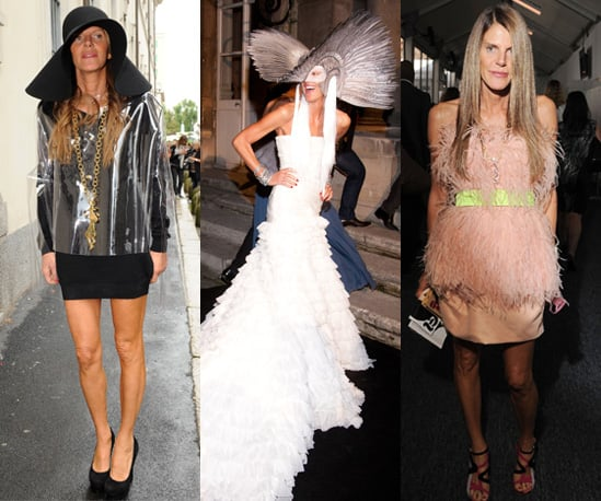 Photos of Anna Dello Russo at Spring 2011 Fashion Weeks