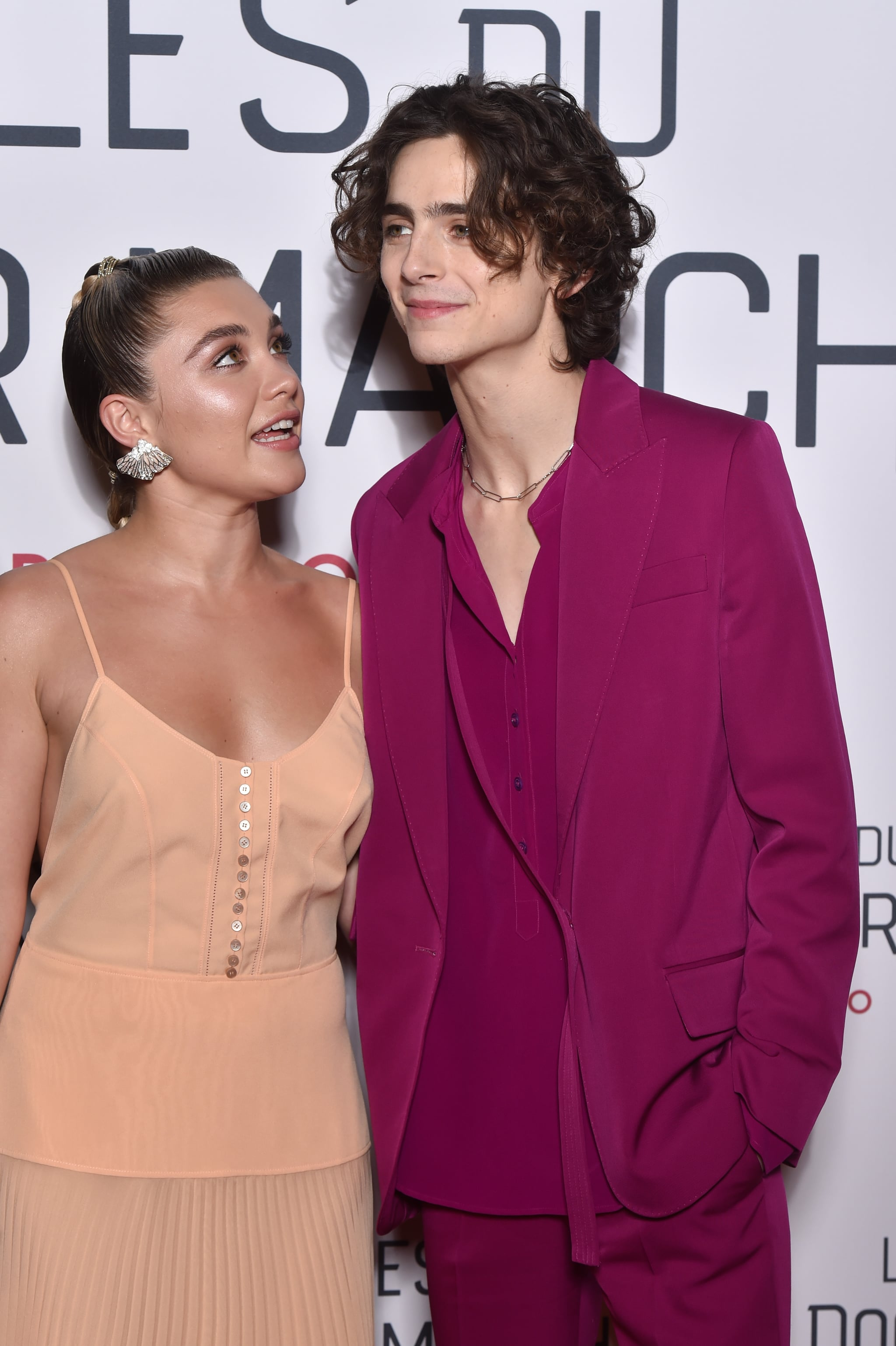 Florence Pugh N >> Florence Pugh And Timothee Chalamet At The Little Women