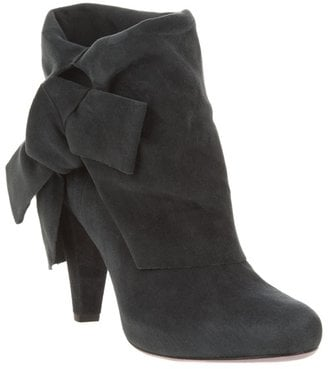 Blue Suede Boots for Autumn Winter 2010