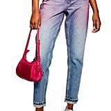 Topshop Ombré Mom Jeans