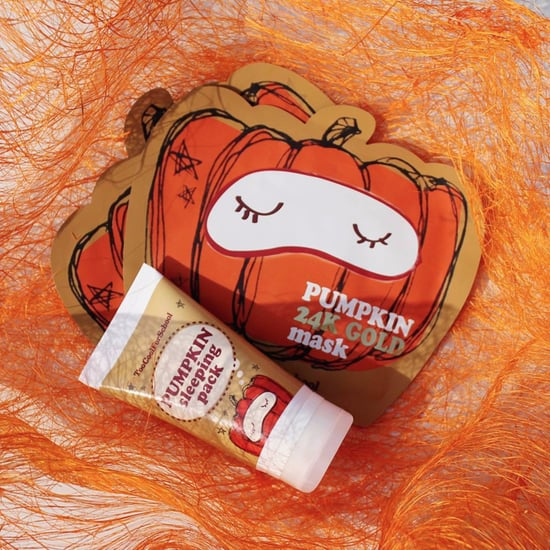 Too Cool For School Pumpkin Mask and Sleeping Pack