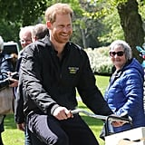 """Prince Harry's """"Daddy"""" Jacket in the Netherlands May 2019"""
