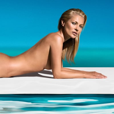 Kate Moss Naked For St. Tropez Ad | Pictures