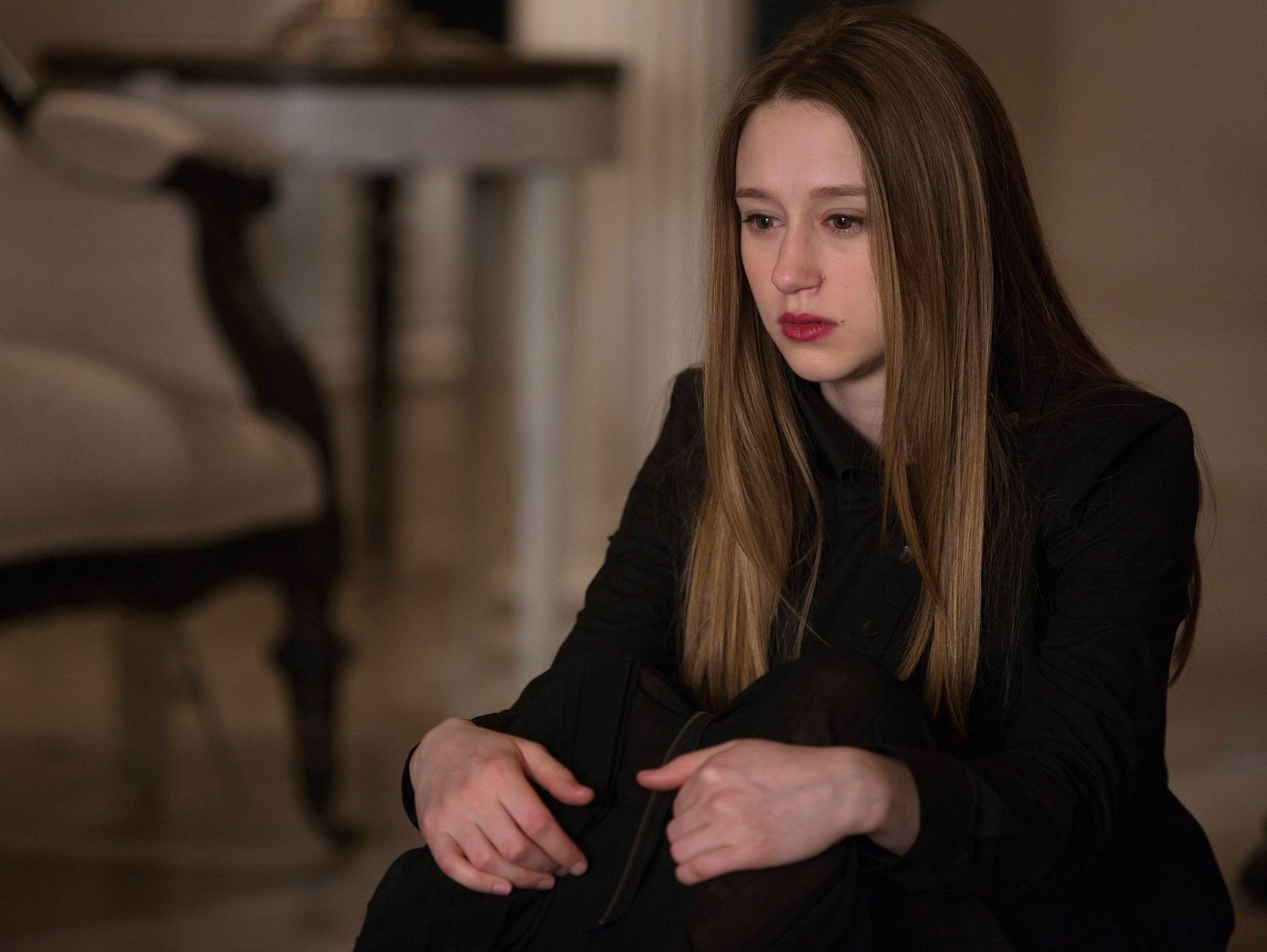 AMERICAN HORROR STORY: COVEN, Taissa Farmiga in 'The Seven Wonders' (Season 3, Episode 13, aired January 29, 2014). ph: Michele K. Short/FX Networks/courtesy Everett Collection