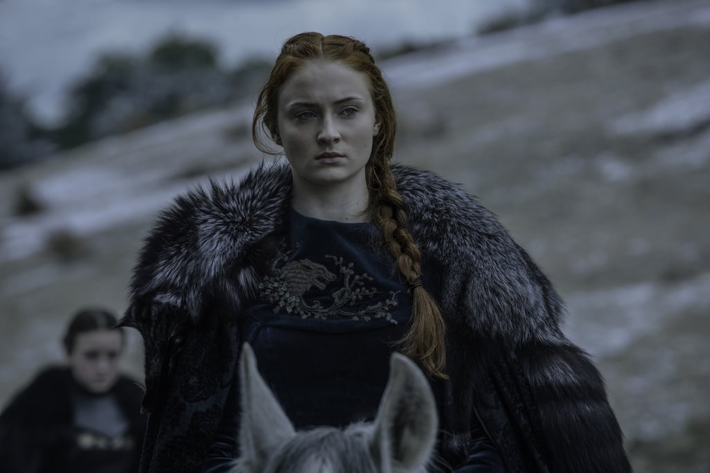 Sophie Turner auditioned for the part of Sansa Stark on a whim.
