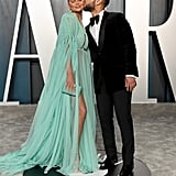 Chrissy Teigen and John Legend at the Vanity Fair Oscars Afterparty