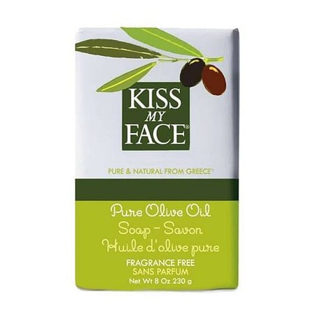 Kiss My Face Pure Olive Oil Bar Soap Review