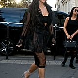 Kim Kardashian Out in Paris 2016