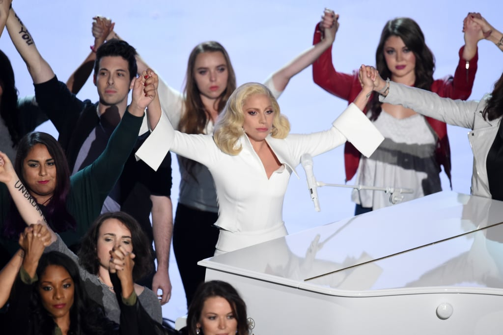 "Lady Gaga's ""Til It Happens to You"" Performance"