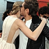 Zac Efron and Taylor Swift met up at the premiere of their animated film, The Lorax.