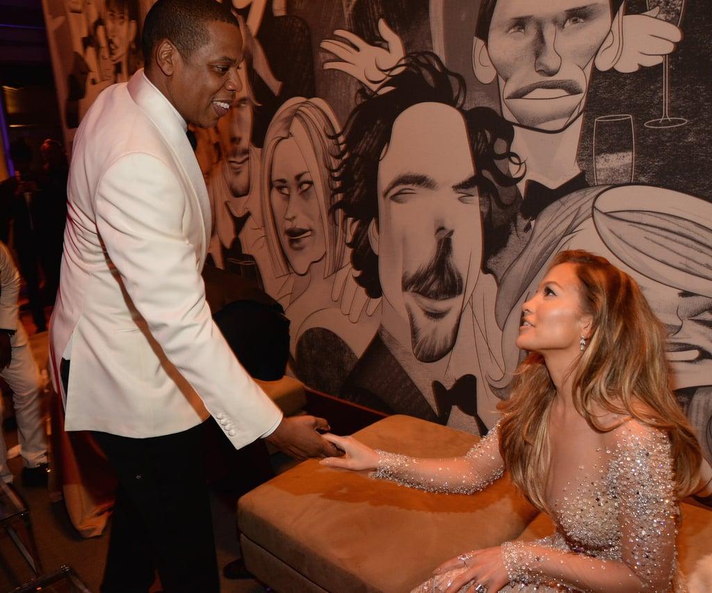 Jay Z and Jennifer Lopez