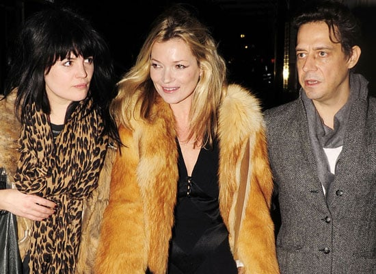 Photos of Kate Moss, Allison Mosshart and Jamie Hince