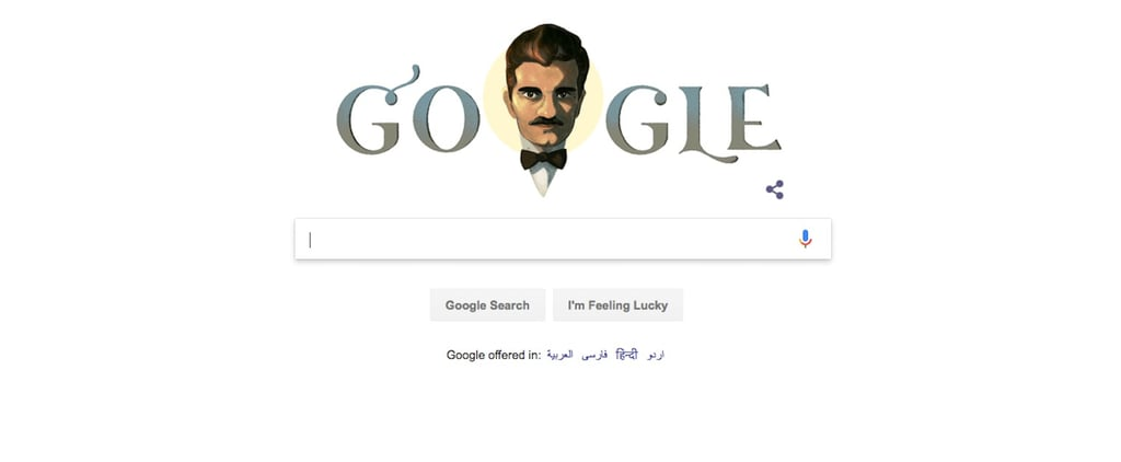 Omar Sharif Google Doodle April 10, 2018