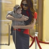 Victoria Beckham Shows Baby Harper the Joys of NYC Shopping —For Toys!