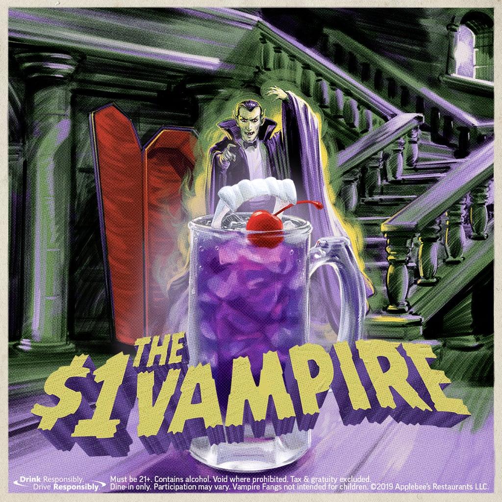 Applebee's $1 Vampire Cocktail Deal For October 2019