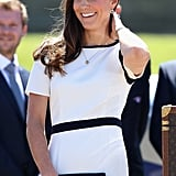 Kate's Jaeger Crepe Dress