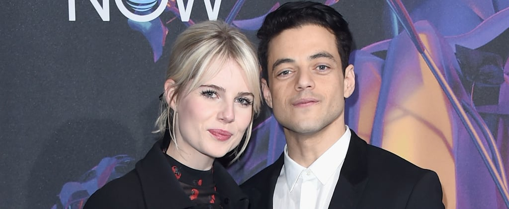 Rami Malek Dating Lucy Boynton