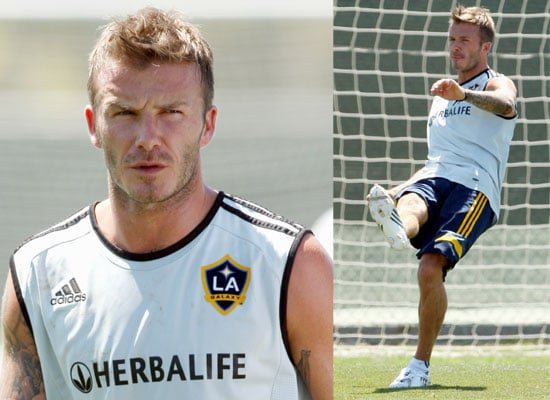 David Beckham Back At LA Galaxy