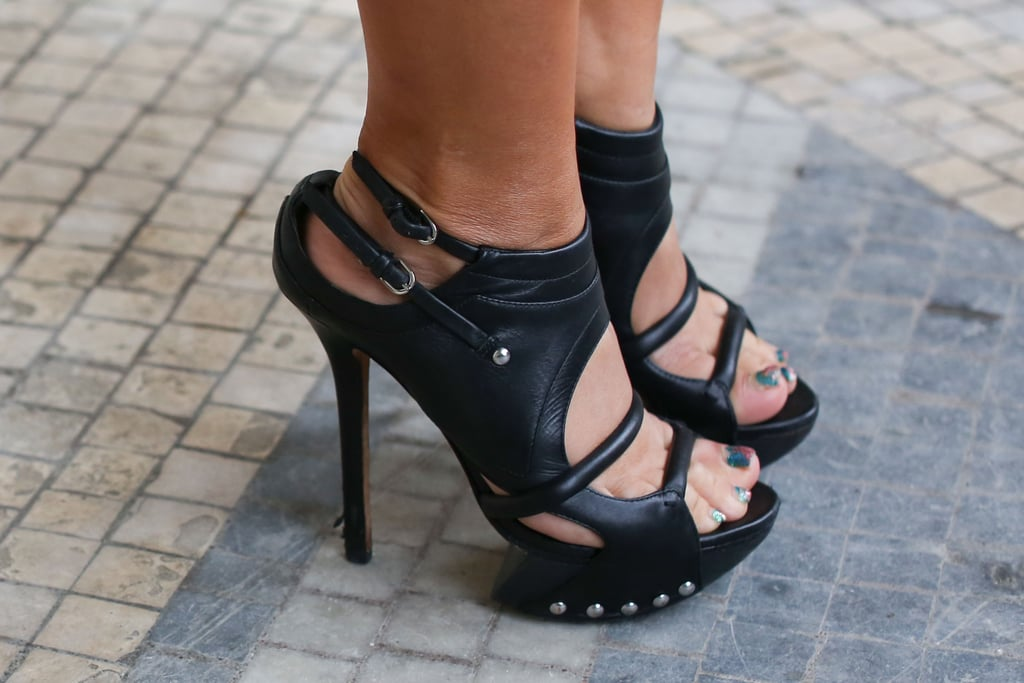 Cutout platforms had street-styled edge for days.