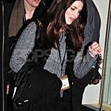 Ashley Greene and Reeve Carney went to watch the Christmas tree-lighting ceremony in NYC.