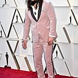Jason Momoa at the 2019 Oscars