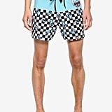 Disney Lilo and Stitch Checkered Swim Trunks
