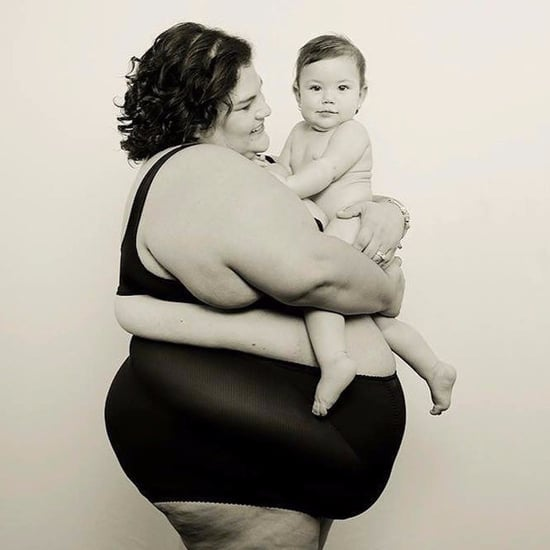 Postpartum Mom Posing With Her Baby Girl
