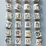 Animal Alphabet Monogram Mug