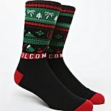 Palm Pine Crew Socks